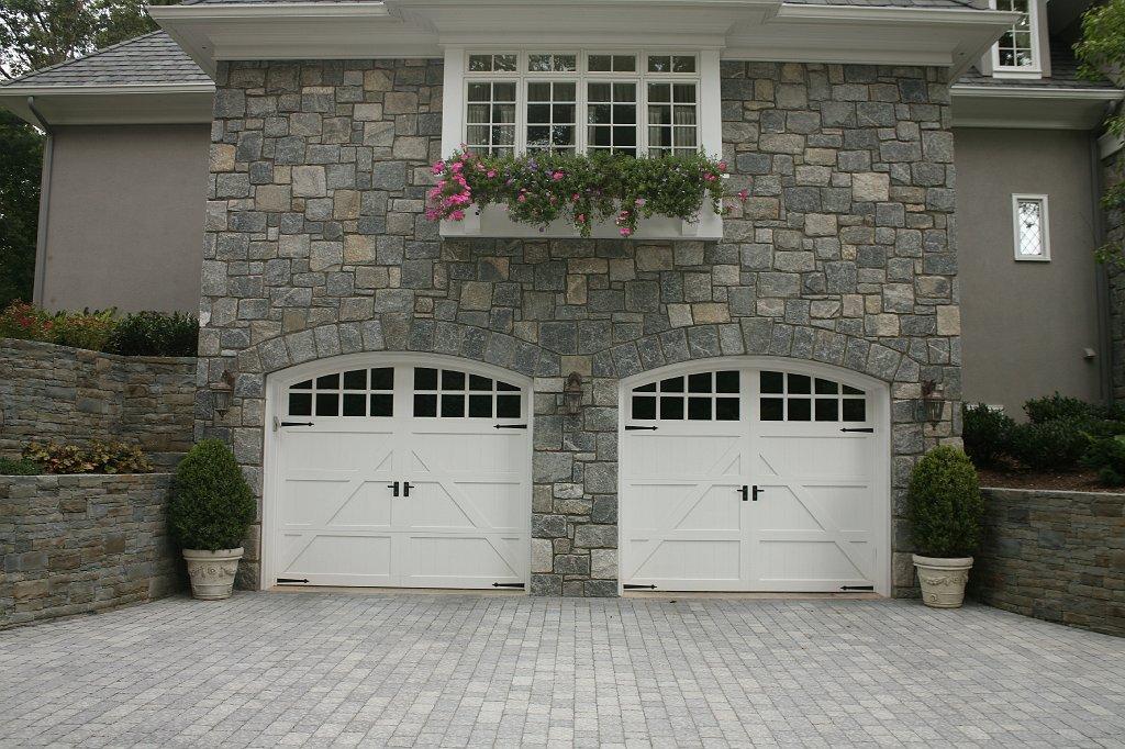 Franklin Lakes New Jersey Bluestone Slab Steps Masonry Bbq