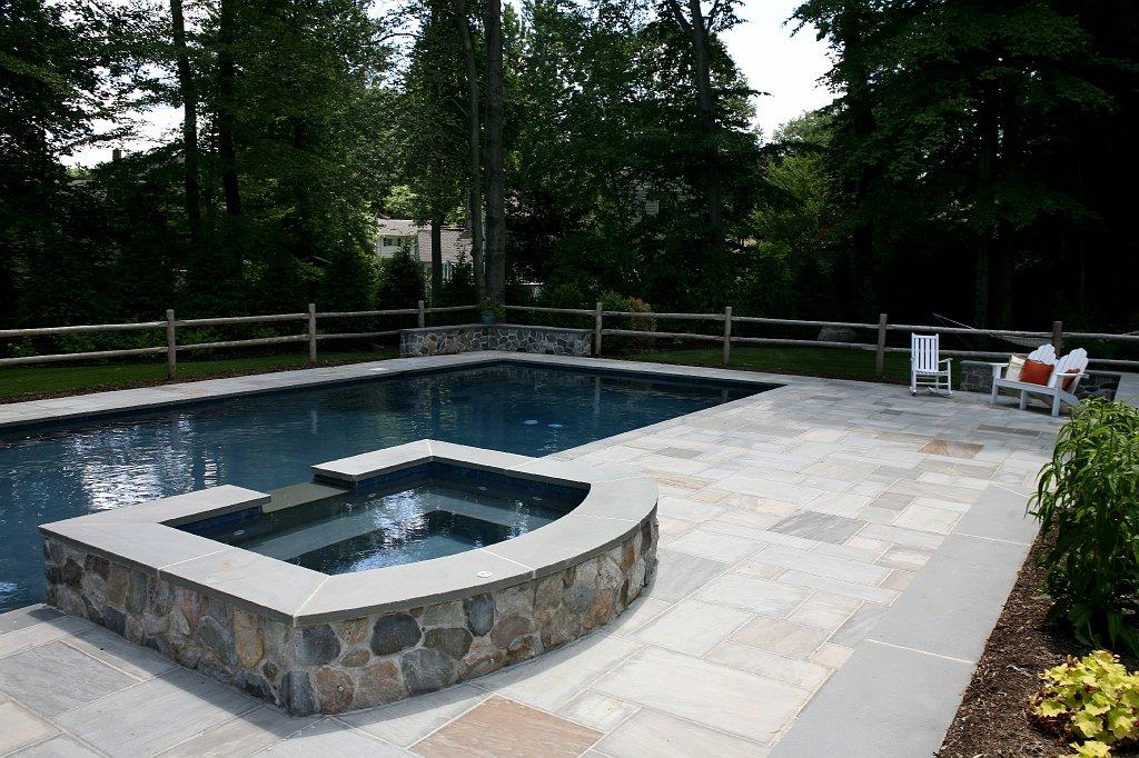 Custom Paver Pool Patio in Kinnelon New Jersey