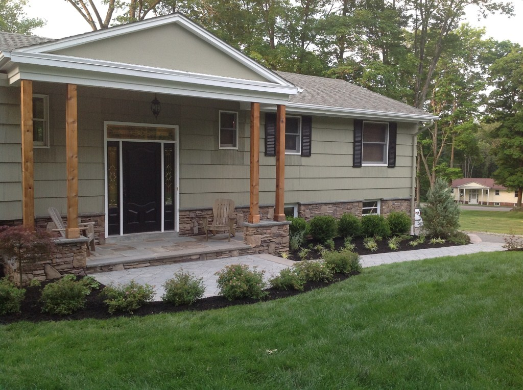 Upper Saddle River Nj >> Stone Veneer Siding on West Milford NJ Home - Stone Veneer Siding